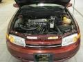 2000 Dark Red Saturn L Series LS1 Sedan  photo #6