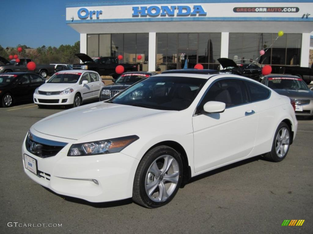 2011 Taffeta White Honda Accord Ex L V6 Coupe 42517843