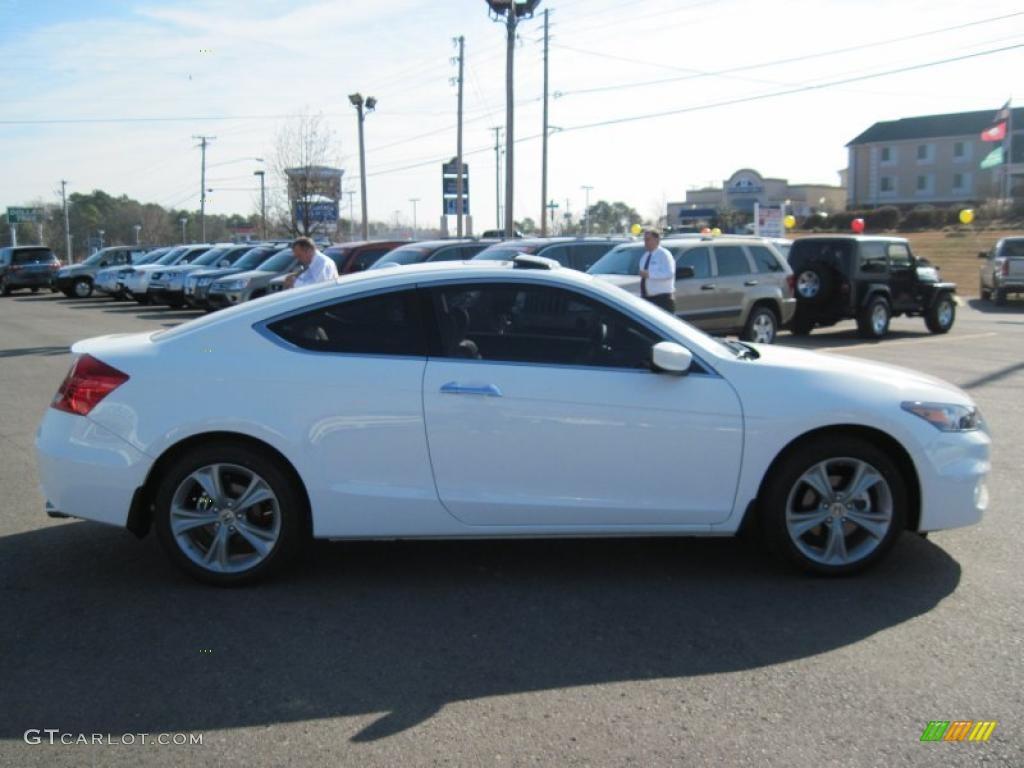 2011 Taffeta White Honda Accord Ex L V6 Coupe 42517843