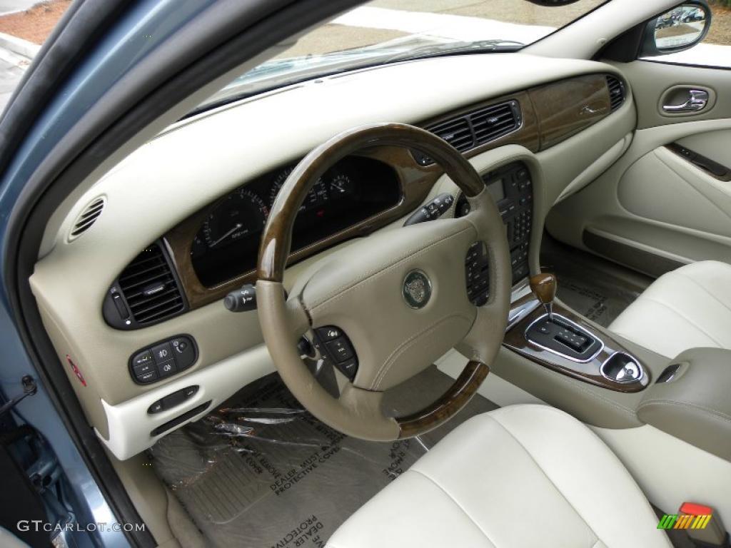 ivory interior 2004 jaguar s type 3 0 photo 42542457. Black Bedroom Furniture Sets. Home Design Ideas