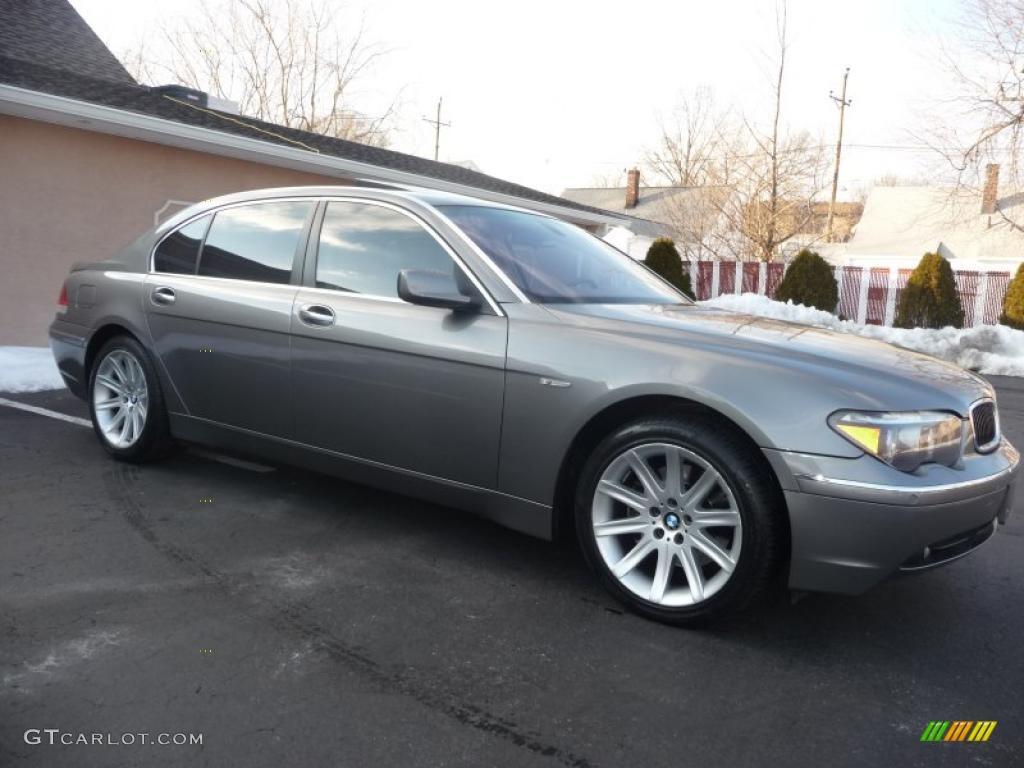 titanium grey metallic 2005 bmw 7 series 745li sedan exterior photo 42547425. Black Bedroom Furniture Sets. Home Design Ideas