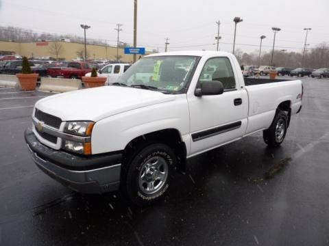 2004 Chevrolet Silverado 1500 Regular Cab 4x4 Data, Info and Specs