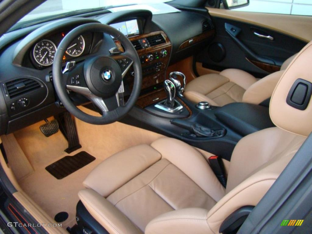 saddle brown interior 2008 bmw 6 series 650i coupe photo 42554529. Black Bedroom Furniture Sets. Home Design Ideas