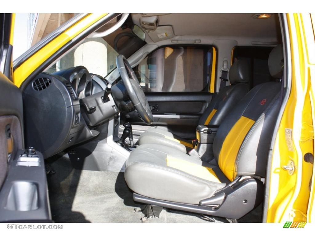 2002 Nissan Frontier Sc Crew Cab 4x4 Interior Photo 42560117