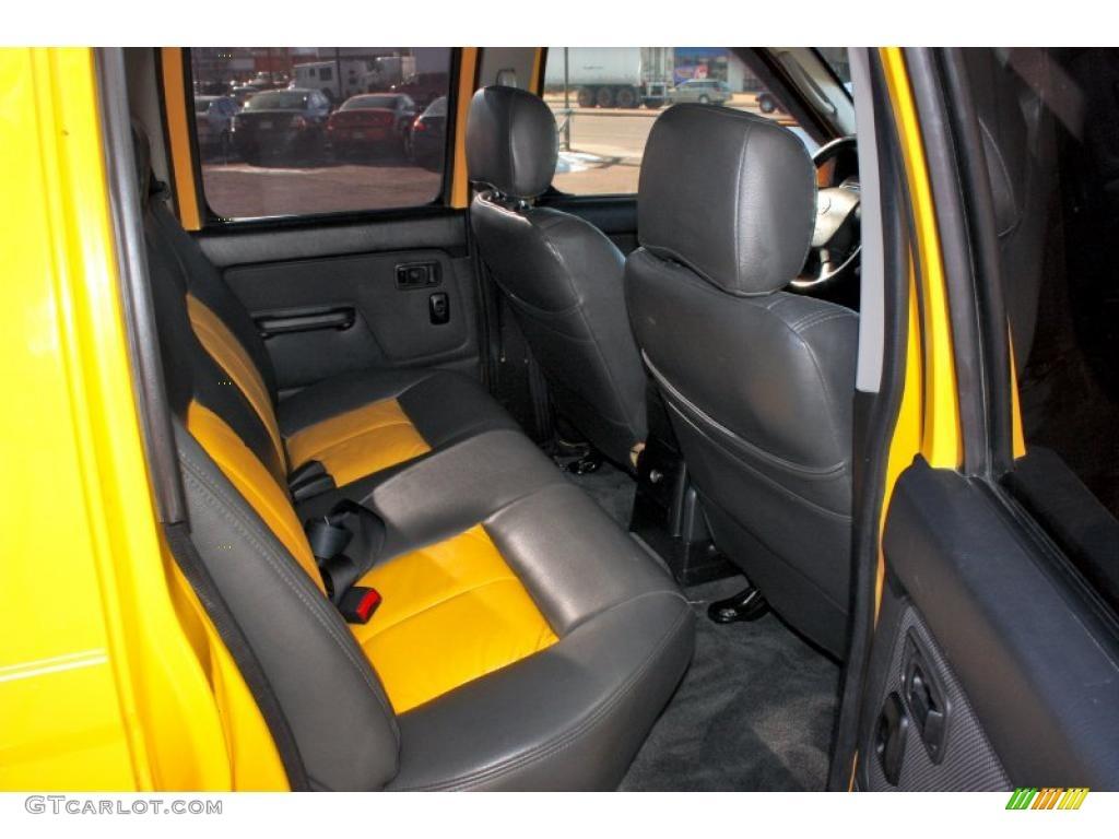 Charcoal Interior 2002 Nissan Frontier Sc Crew Cab 4x4 Photo 42560209
