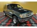 1997 Medium Willow Metallic Ford Explorer XLT 4x4 #42517952