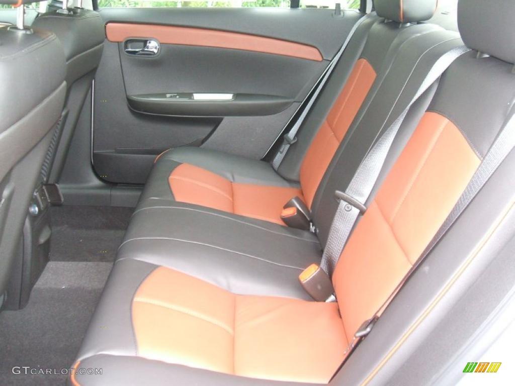 Ebony Brick Interior 2011 Chevrolet Malibu Ltz Photo 42584426