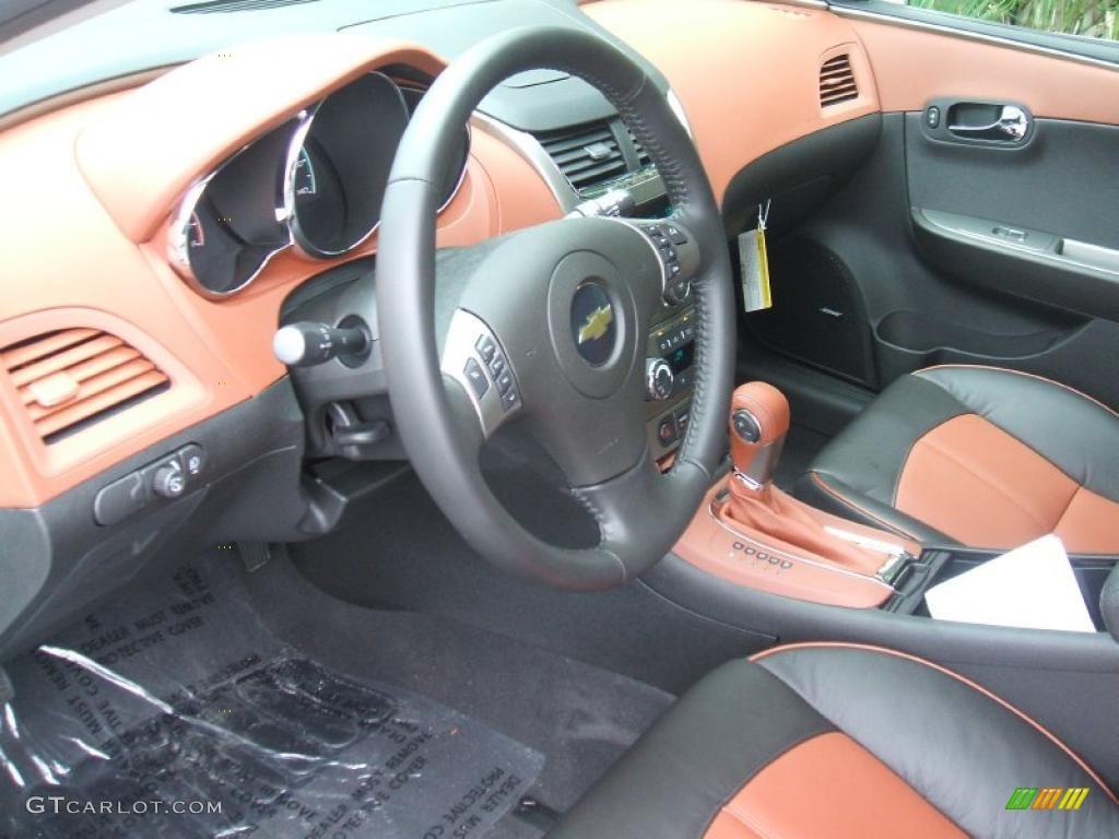 Ebony Brick Interior 2011 Chevrolet Malibu Ltz Photo 42584486