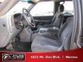 2002 Medium Charcoal Gray Metallic Chevrolet Silverado 1500 LS Crew Cab 4x4  photo #6
