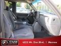 2002 Medium Charcoal Gray Metallic Chevrolet Silverado 1500 LS Crew Cab 4x4  photo #10