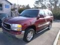 Garnet Red Metallic 2002 GMC Yukon SLE 4x4