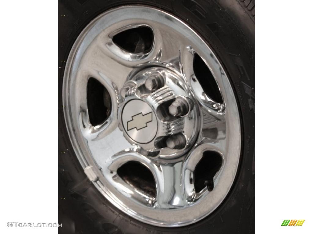 2002 Chevrolet Silverado 1500 LS Regular Cab Wheel Photo #42595580