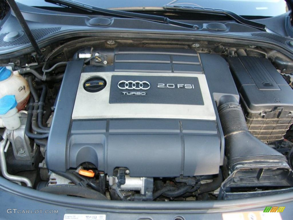 2007 audi a3 2 0t 2 0 liter fsi turbocharged dohc 16 valve. Black Bedroom Furniture Sets. Home Design Ideas