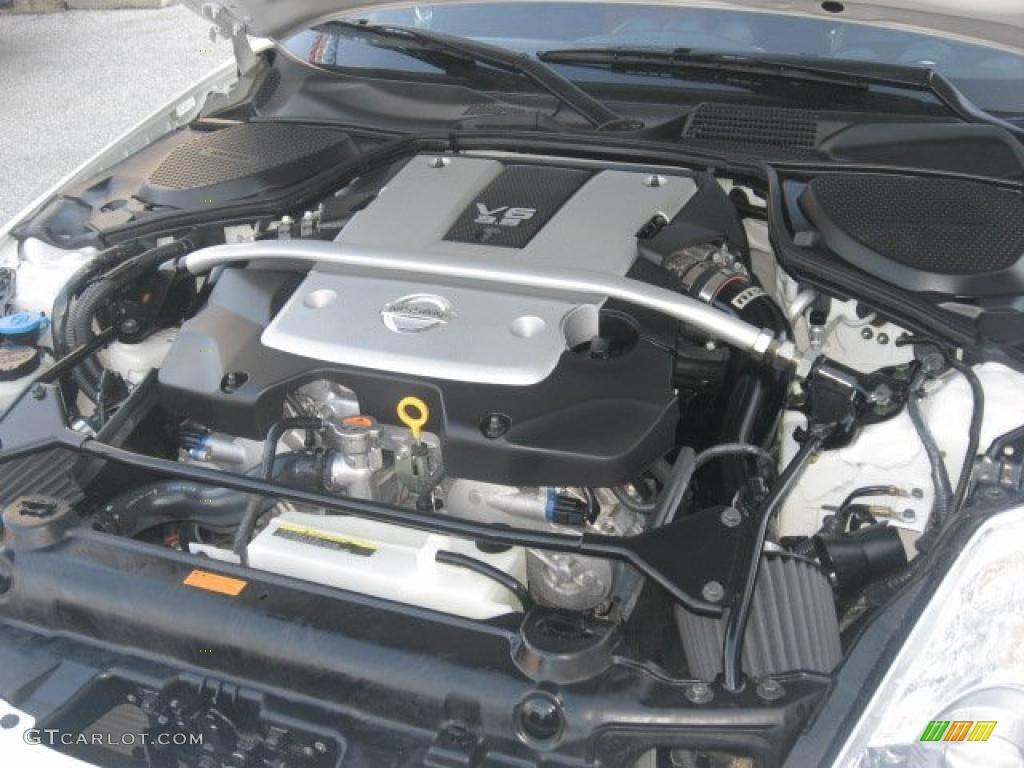2008 nissan 350z nismo coupe 3 5 liter dohc 24 valve vvt v6 engine photo 42614668. Black Bedroom Furniture Sets. Home Design Ideas