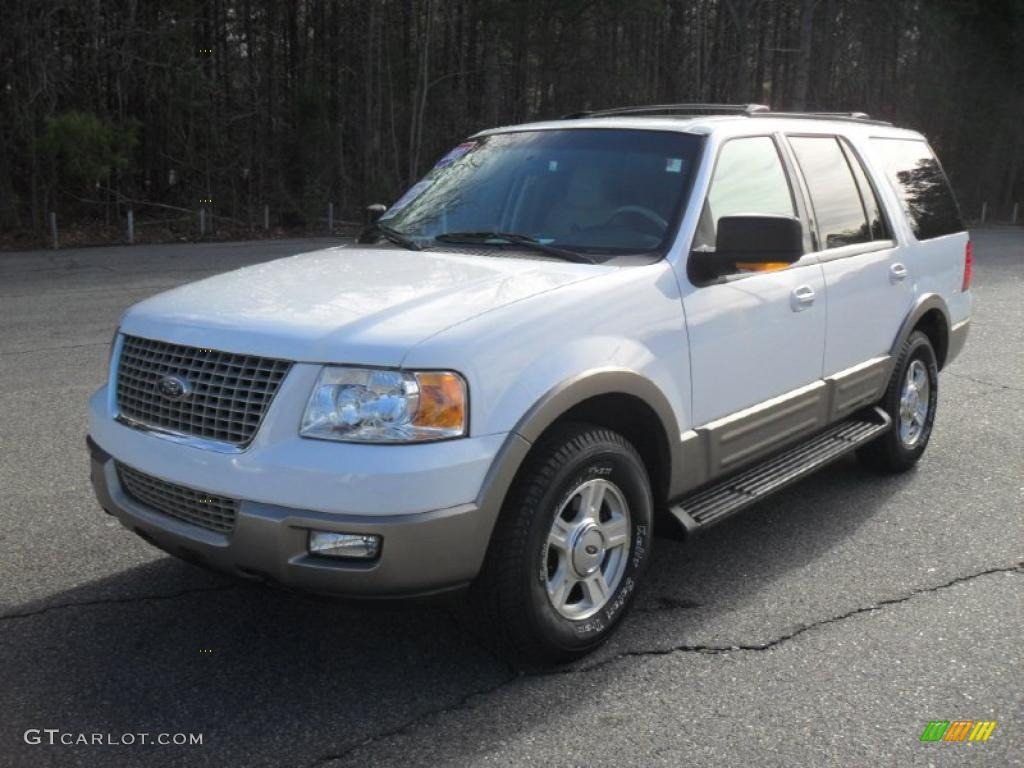 oxford white 2003 ford expedition eddie bauer exterior photo 42620500. Cars Review. Best American Auto & Cars Review