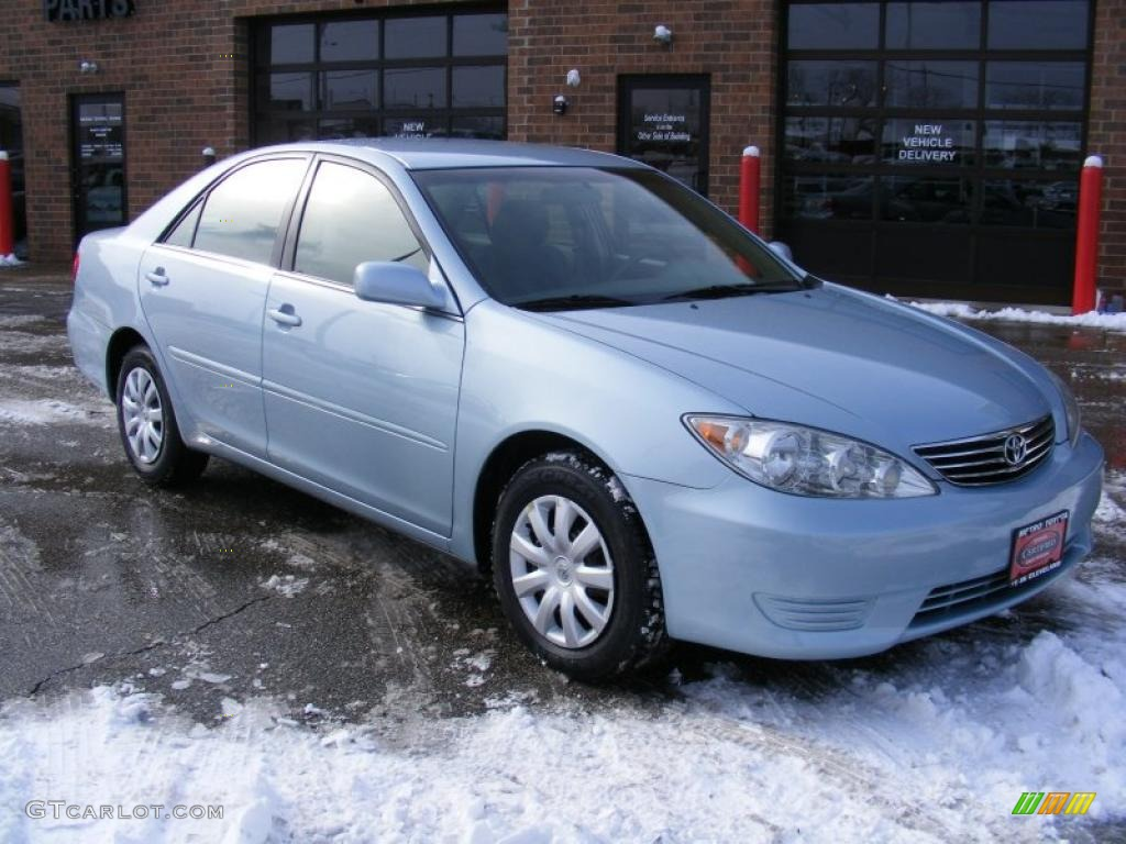 2005 sky blue pearl toyota camry le 42596293 car color galleries. Black Bedroom Furniture Sets. Home Design Ideas