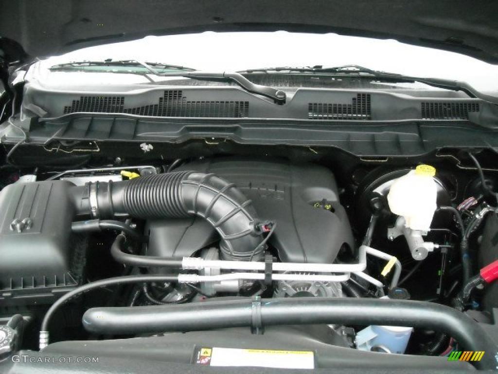 2011 dodge ram 1500 sport r t regular cab 5 7 liter hemi ohv 16 valve vvt mds v8 engine photo. Black Bedroom Furniture Sets. Home Design Ideas