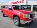 Fire Red 2011 GMC Sierra 1500 SL Extended Cab