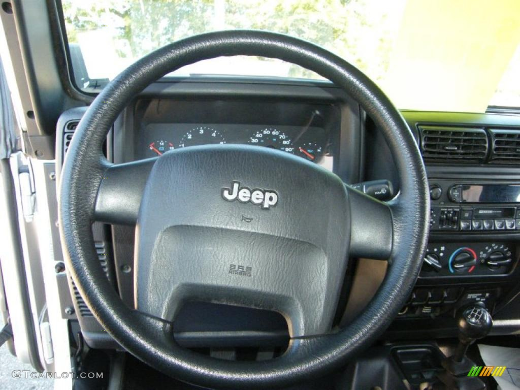 2004 Jeep Wrangler Se 4x4 Steering Wheel Photos Gtcarlot Com