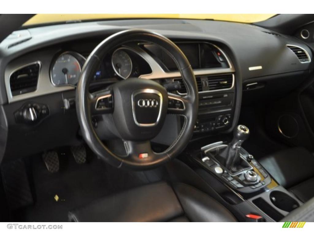 Black Interior 2008 Audi S5 4 2 Quattro Photo 42649080