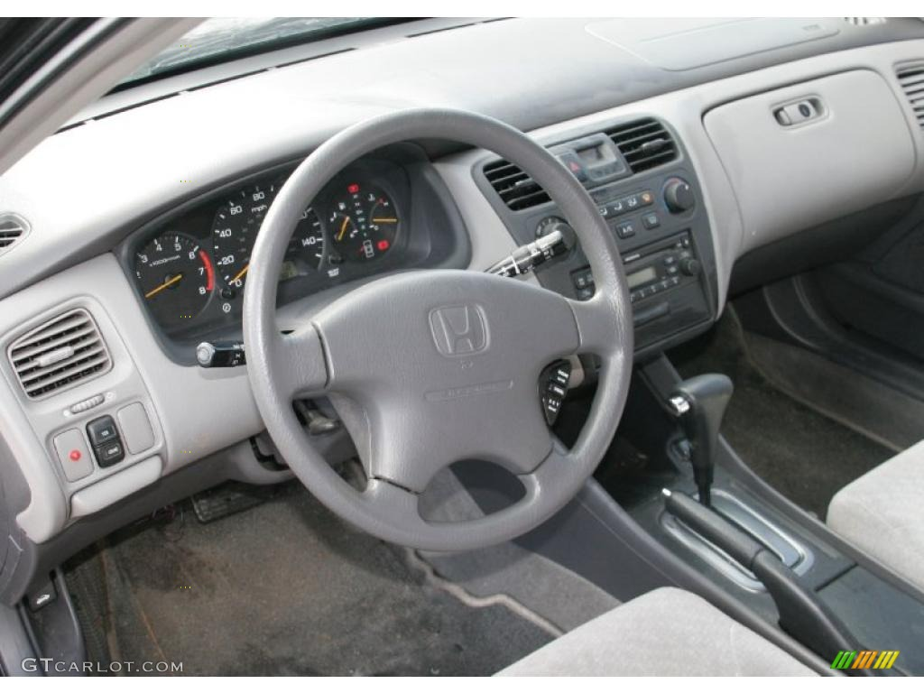 2002 Honda Accord LX V6 Sedan Interior Color Photos ...