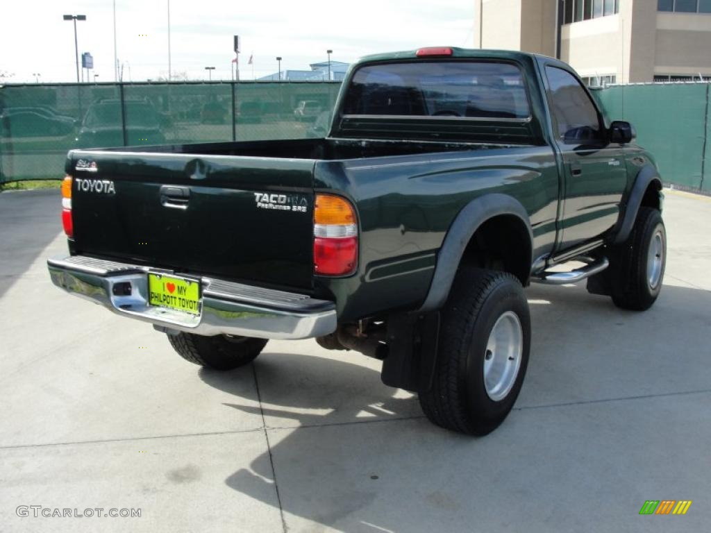2001 Imperial Jade Green Mica Toyota Tacoma PreRunner ...