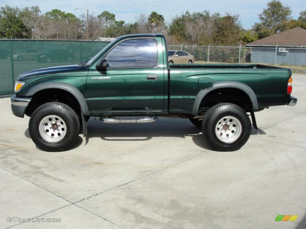2001 Imperial Jade Green Mica Toyota Tacoma Prerunner