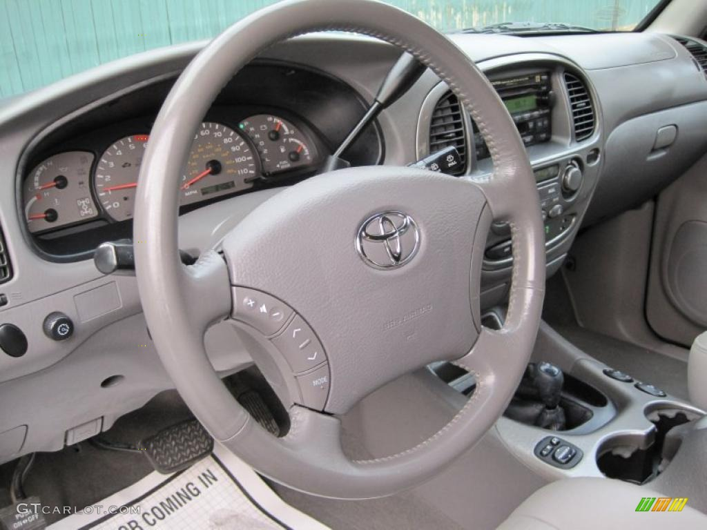 Charcoal Interior 2004 Toyota Sequoia Limited 4x4 Photo