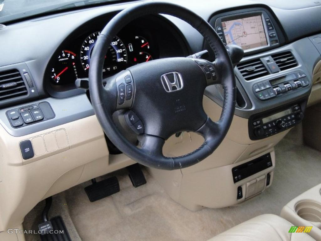 2006 Honda Odyssey Touring Ivory Dashboard Photo 42673574 Gtcarlot Com