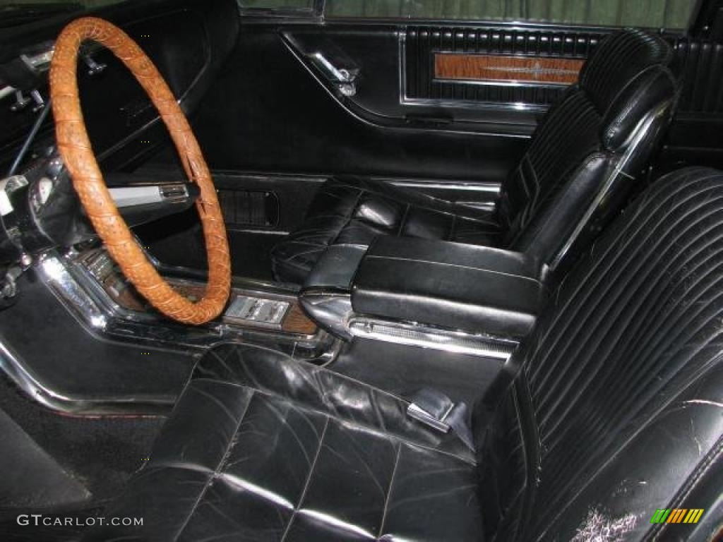 Black Interior 1966 Ford Thunderbird Landau Photo 42677772