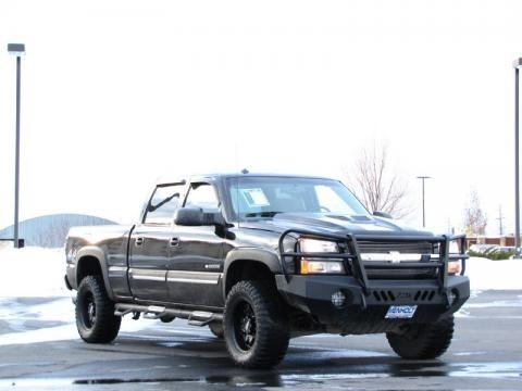 2003 chevrolet silverado 2500hd ls crew cab 4x4 data info and specs. Black Bedroom Furniture Sets. Home Design Ideas