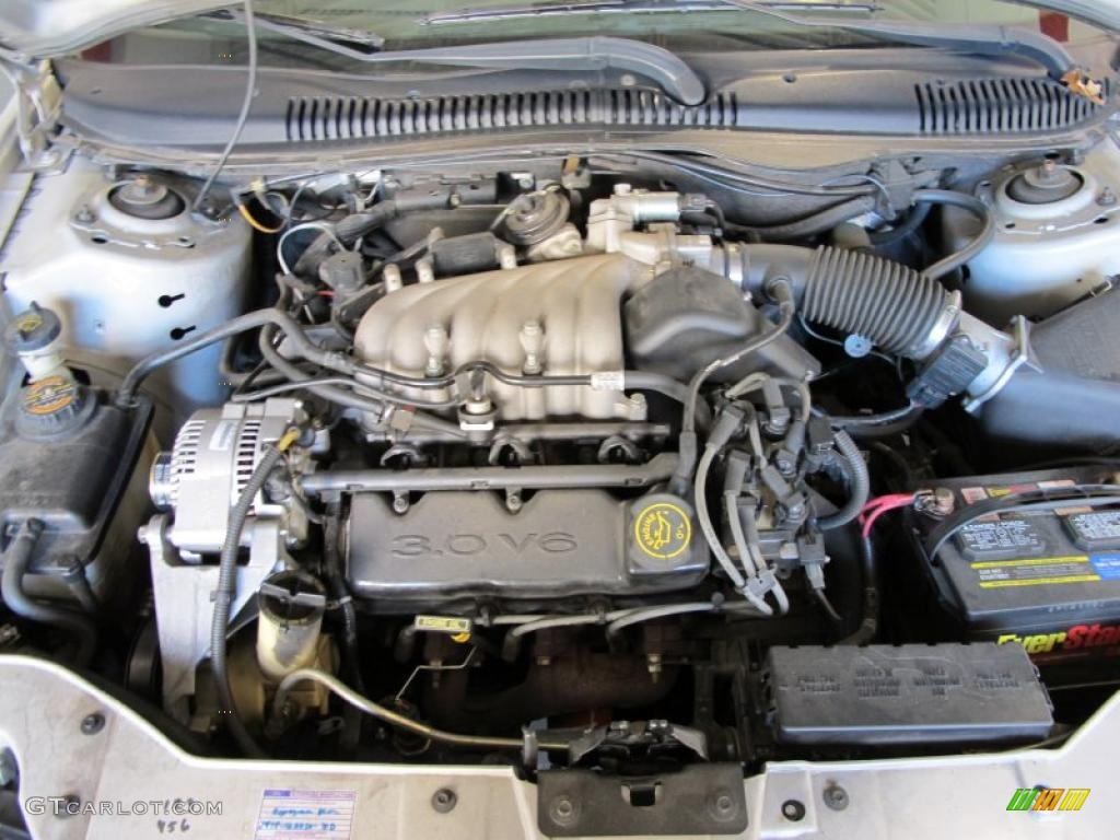 1999 Ford Taurus LX 3.0 Liter OHV 12-Valve V6 Engine Photo ...