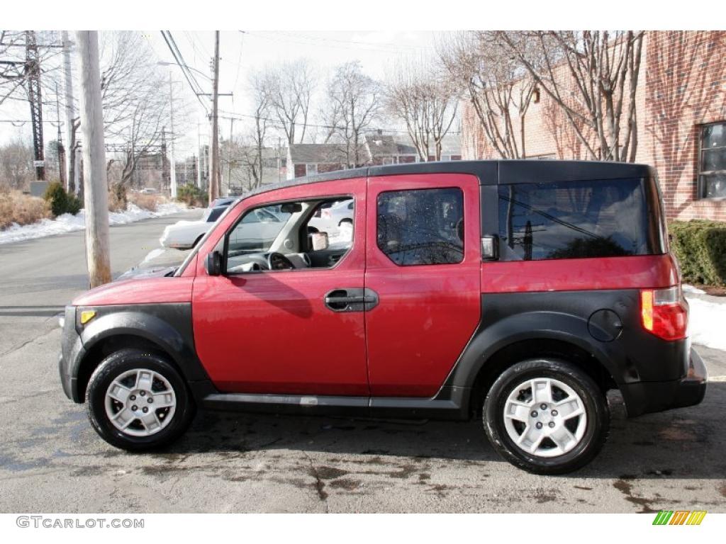 Tango Red Pearl 2007 Honda Element Lx Awd Exterior Photo 42689383 Gtcarlot Com