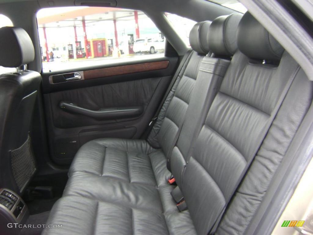 onyx interior 1998 audi a6 2 8 quattro sedan photo. Black Bedroom Furniture Sets. Home Design Ideas