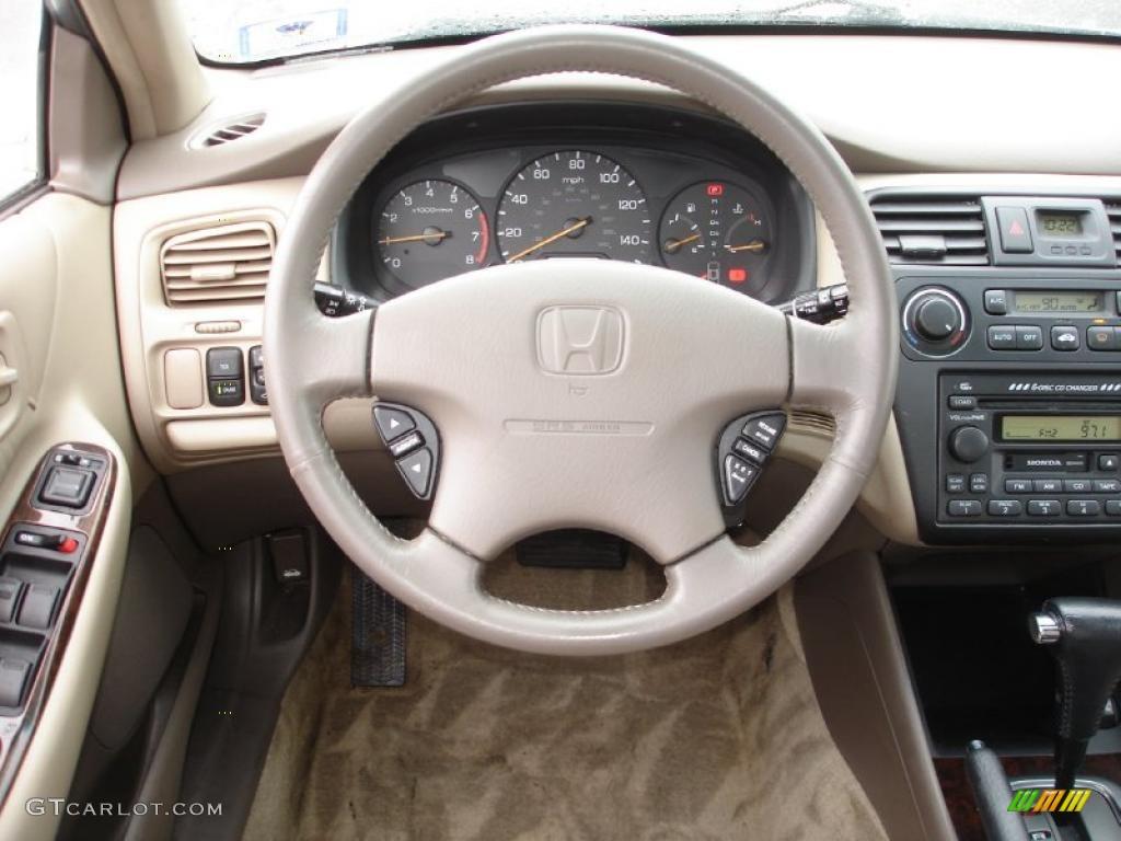 2001 Taffeta White Honda Accord Ex V6 Sedan 42681583 Photo 12 Car Color Galleries