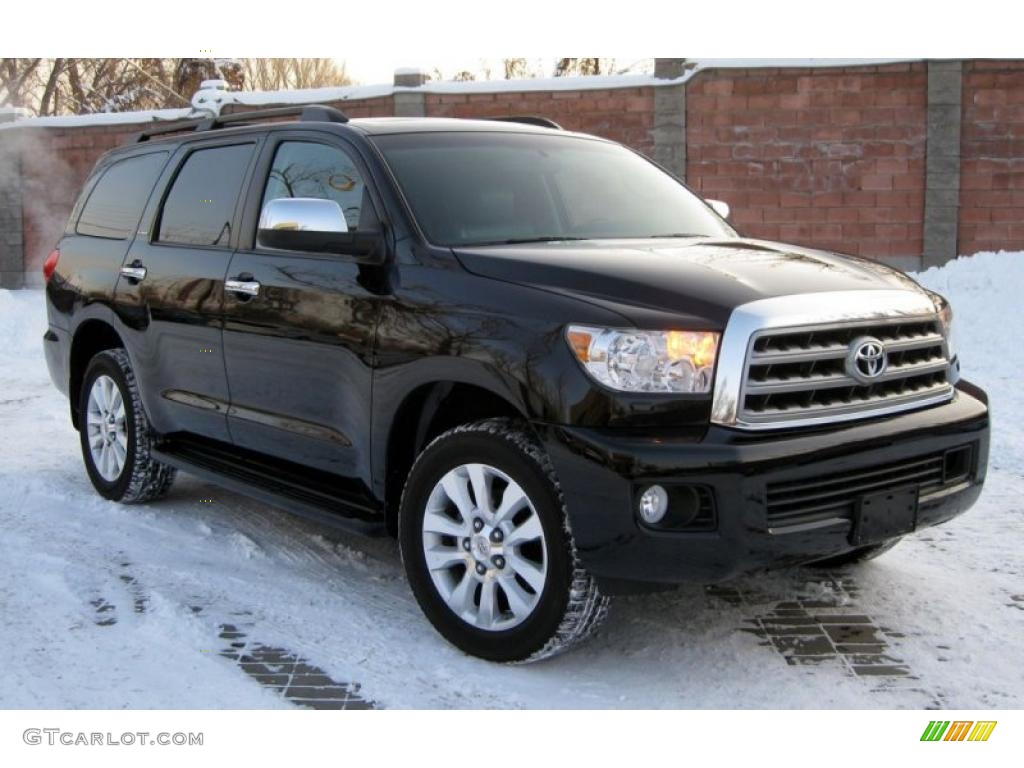 2008 toyota sequoia platinum 4wd exterior photos. Black Bedroom Furniture Sets. Home Design Ideas
