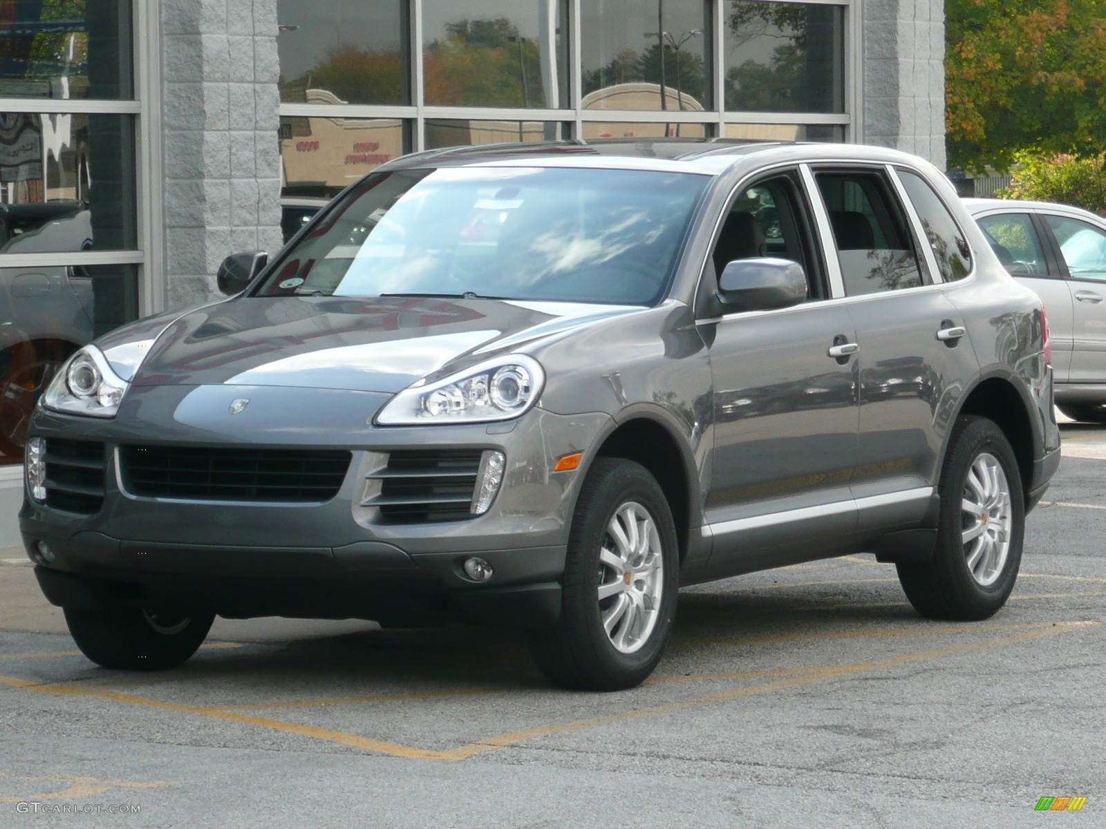2008 meteor grey metallic porsche cayenne tiptronic 42703 car color galleries. Black Bedroom Furniture Sets. Home Design Ideas
