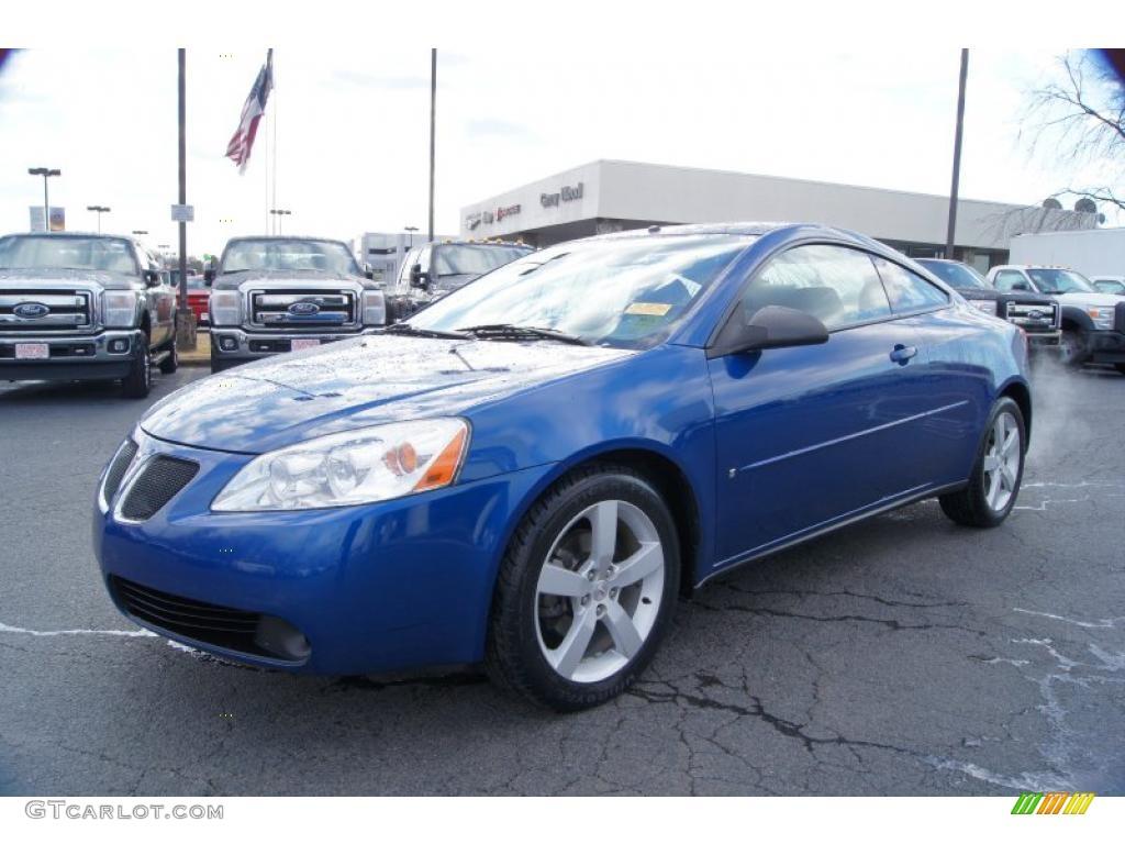 Electric Blue Metallic 2006 Pontiac G6 Gtp Coupe Exterior