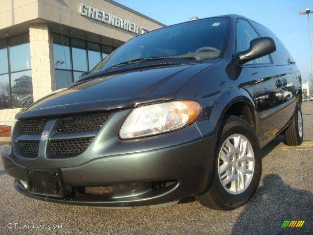 Onyx Green Pearl Dodge Grand Caravan. Dodge Grand Caravan Sport