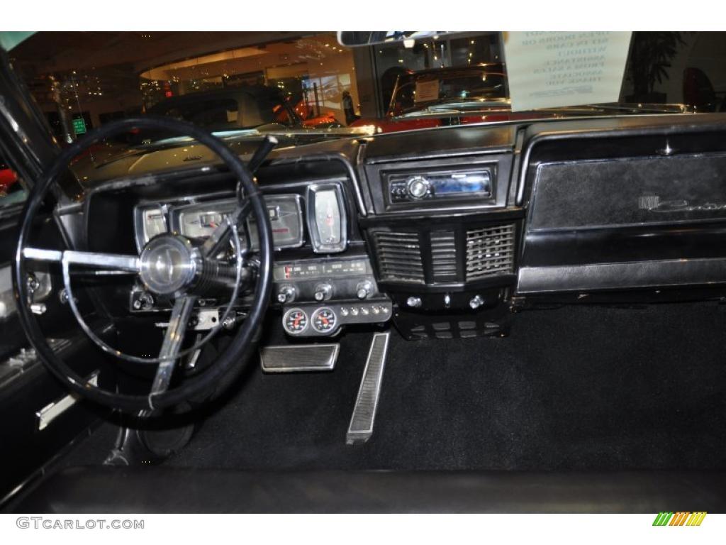 1962 Lincoln Continental Sedan Black Dashboard Photo