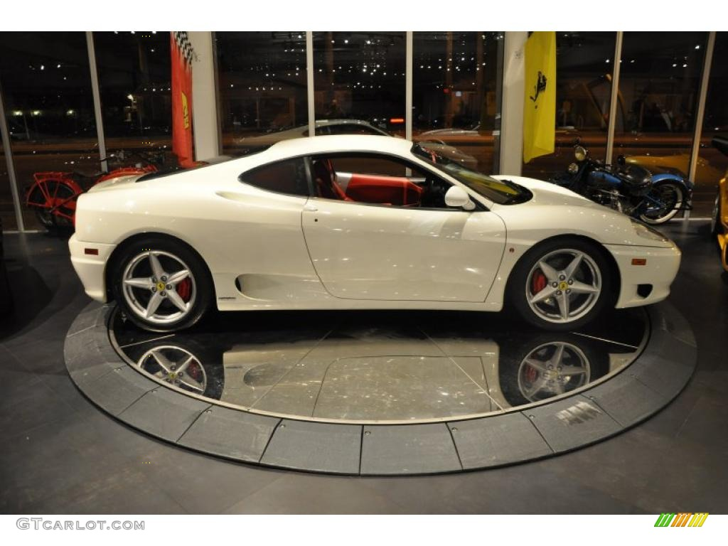 White 2003 Ferrari 360 Modena F1 Exterior Photo 42725657