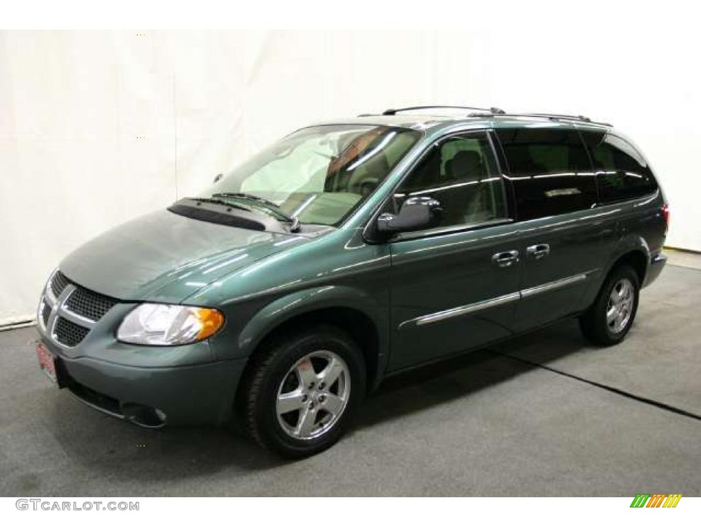 onyx green pearl 2003 dodge grand caravan es exterior. Black Bedroom Furniture Sets. Home Design Ideas
