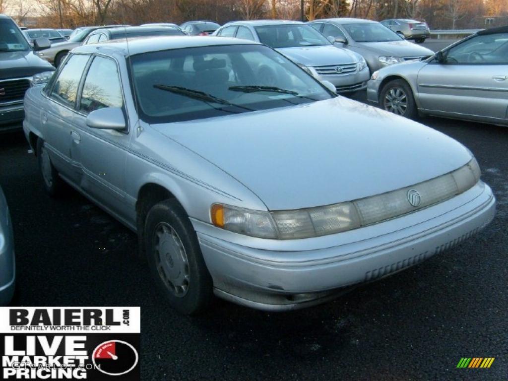 1995 silver frost pearl metallic mercury sable gs sedan. Black Bedroom Furniture Sets. Home Design Ideas