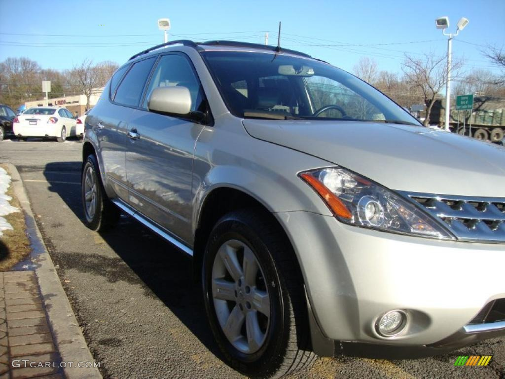 2007 Murano SL AWD - Brilliant Silver Metallic / Charcoal photo #7