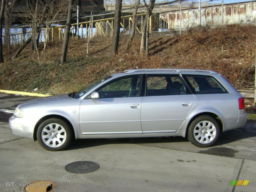 Light Silver Metallic 2000 Audi A6 2 8 Quattro Avant