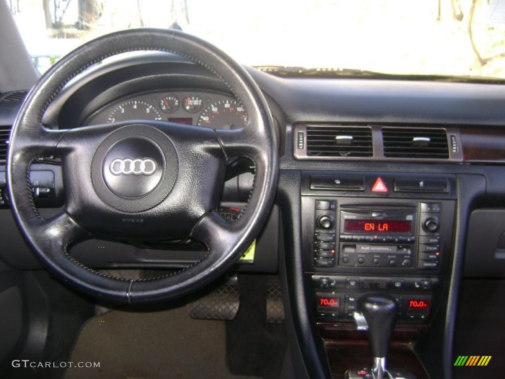 2000 Audi A6 2 8 Quattro Avant Tungsten Gray Dashboard