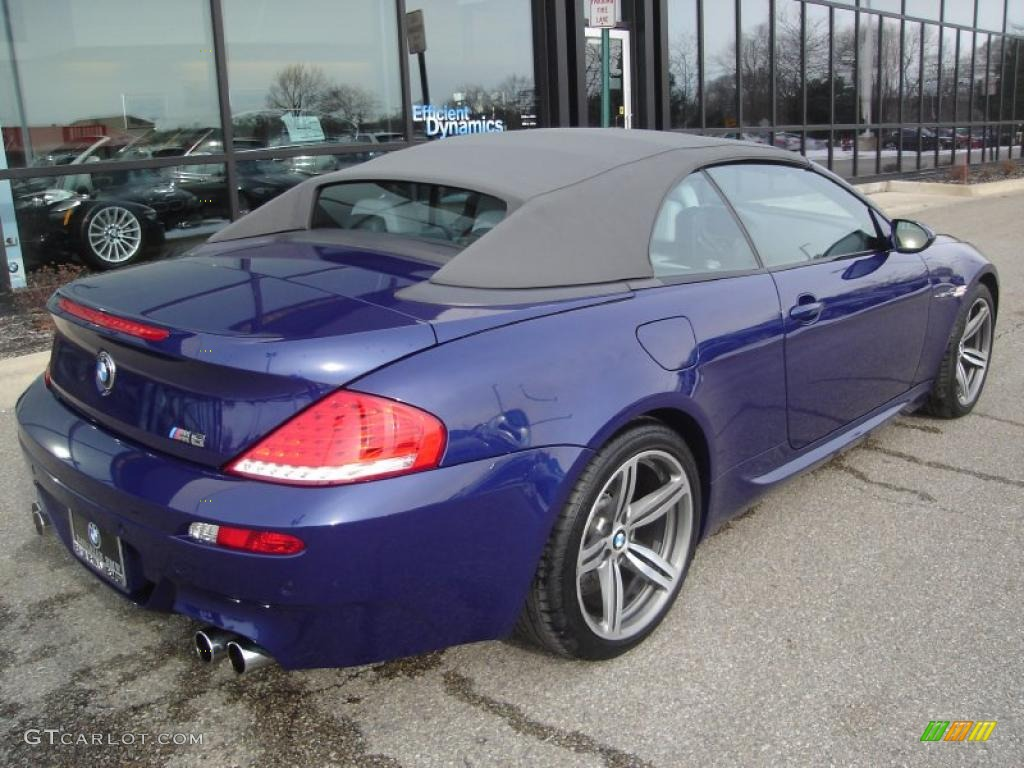 2008 Interlagos Blue Metallic Bmw M6 Convertible 42752640 Photo 5 Gtcarlot Com Car Color Galleries