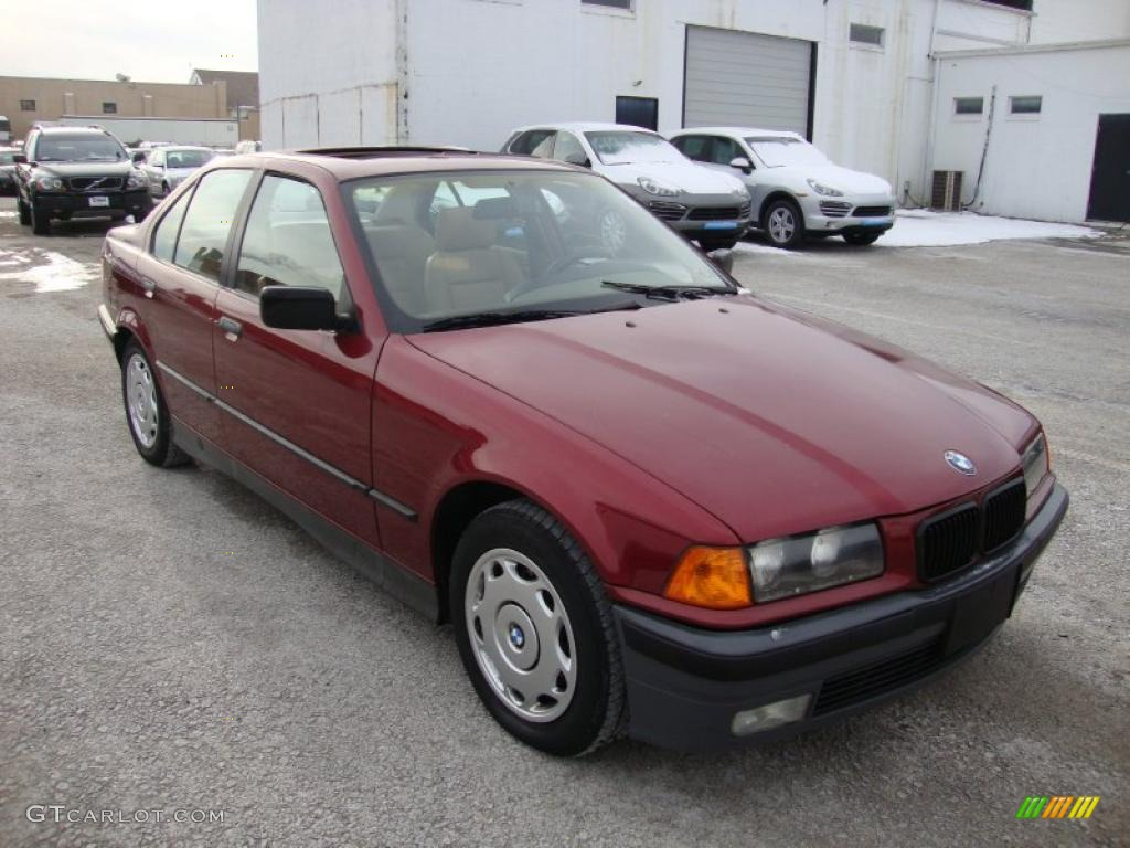 Calypso red pearl 1994 bmw 3 series 318i sedan exterior photo 42772585