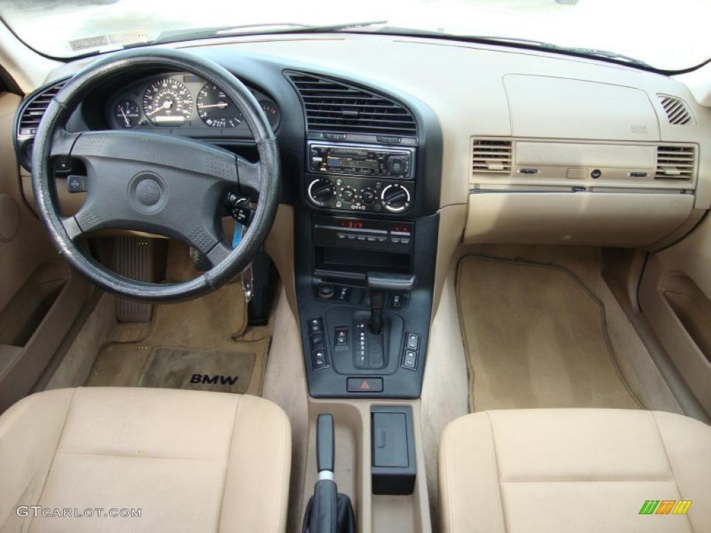 1994 Bmw 3 Series 318i Sedan Beige Dashboard Photo 42772961