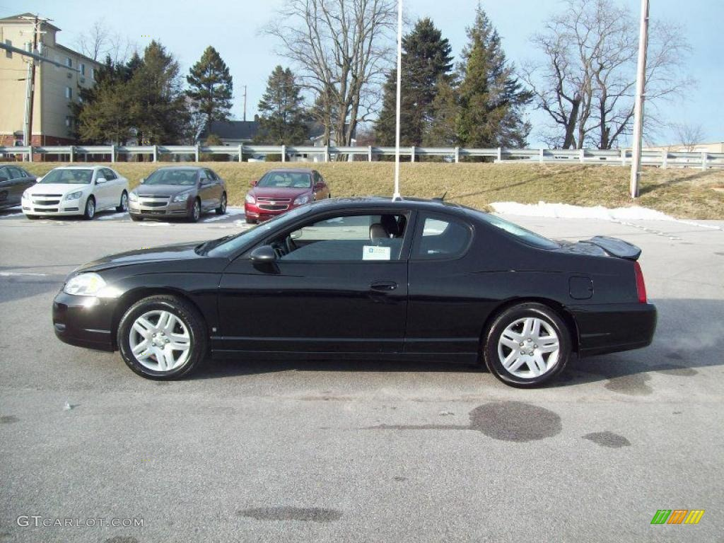 black 2006 chevrolet monte carlo ltz exterior photo. Black Bedroom Furniture Sets. Home Design Ideas